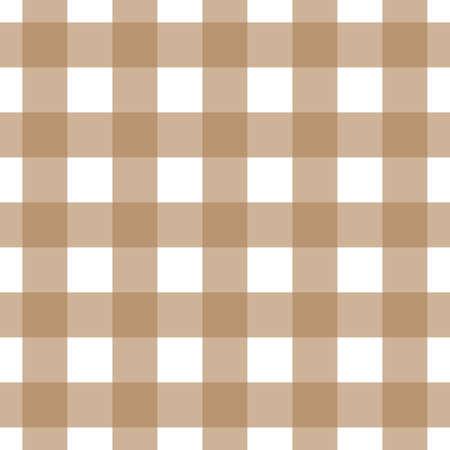 Brown et blanc nappe