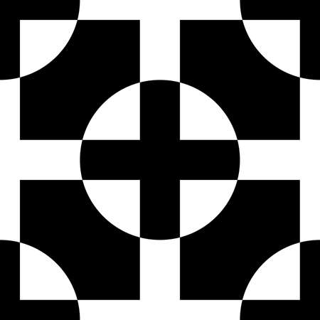 abstract cross: Abstract cross bassed pseudo sign Illustration