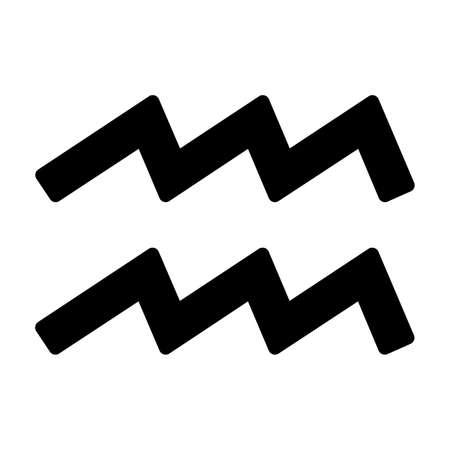 esot�risme: Signe du zodiaque Verseau 20 Janvier - 18 F�vrier Illustration