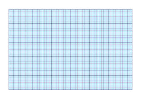 A4 graph paper standard for printing with  cm and 5 mm separators   Vector
