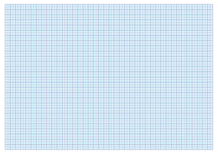 A3 graph paper standard for printing with  cm and 5 mm separators   Vector