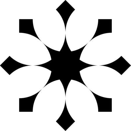 double cross: Estratto doppio elemento di sfondo croce