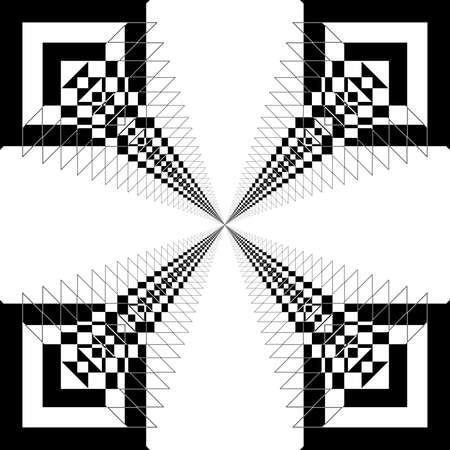 antena: Abstract antena design element Illustration