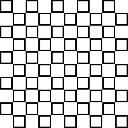 alternating: Alternating squares on transparency background fence element Illustration