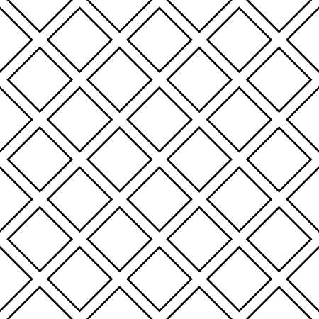 diagonal square cross on transparency background fence project Illustration