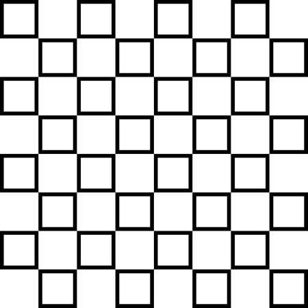 alternating: Cuadrados alternantes abstractas sobre transparencia mesa de ajedrez de fondo