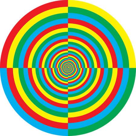 pot hole: Vortex color target