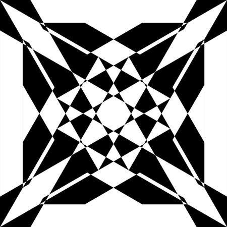 simetry: Abstract arabesque asimetrical simetry black on transparent background