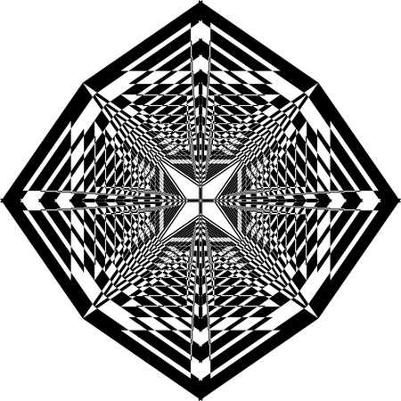 vintage scrolls: Arabesque vortex umbrella abstract black on transparent background