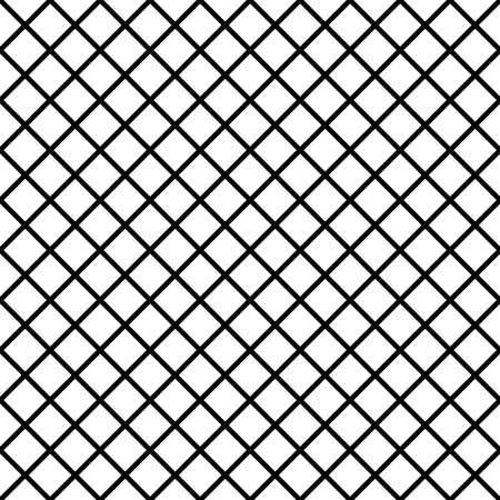 diagonal fence project black on transparent background  イラスト・ベクター素材