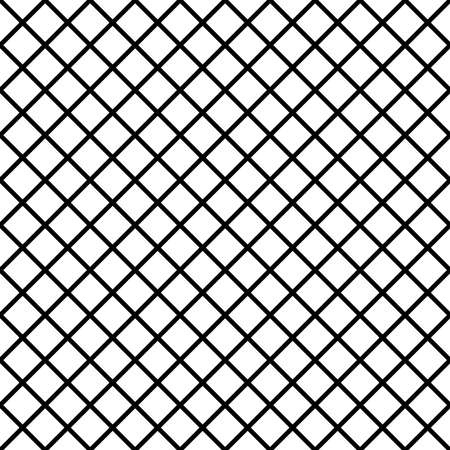 diagonal fence project black on transparent background Stock Illustratie