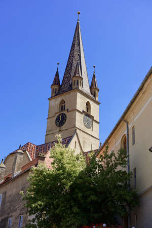 Evangelical Cathedral Sibiu Romania medieval architecture