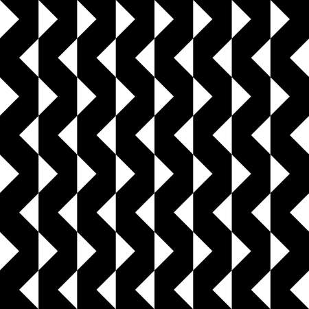 Abstract Arabesque Hypnotic Fence Zigzag Vertical Perspective black on transparent background Illustration