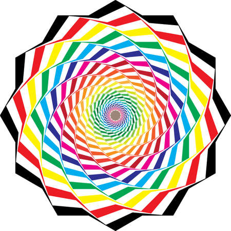 black on transparent background spyral umbrella color swatches designer graphic