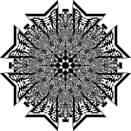 Tower bridge like structure arabesque illusion arabesque satelite  inspired strukture abstract cut art deco illustration on transparent background