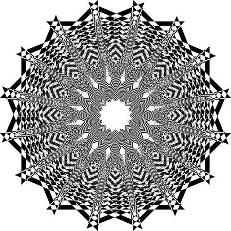 abstract arabesque structurated church ceiling black on transparent background designer cut