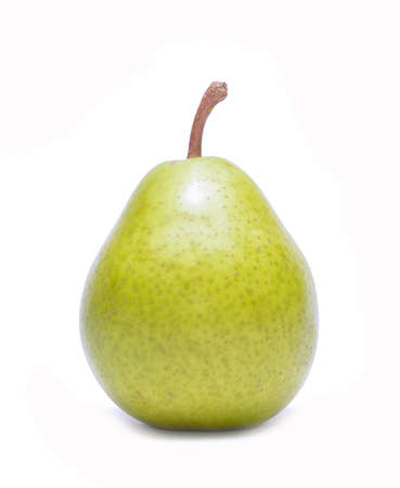williams: Fresh williams pear isolated on white background
