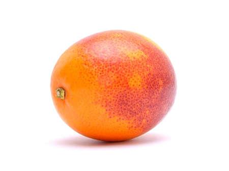 Blood red orange