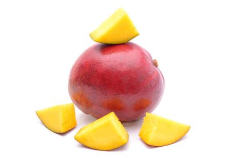 mango: Mango fruit isolated on white background