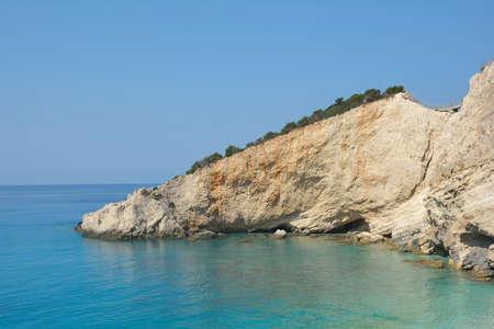 ionio: Porto Katsiki beach, Lefkada, Greece