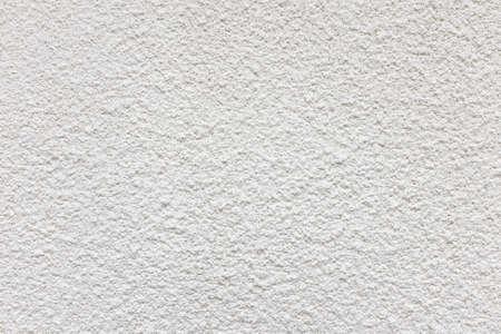 Tyrolean cement render on external wall close up