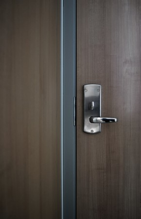 This photograph represent a detail of a modern office door background Stock Photo - 8274320