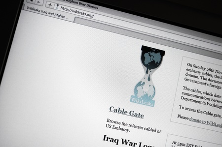 stated: Website of Wikileaks presenting confidential documents concerning the war in Afghanistan. Wikileaks-activists stated via the microblogging and social network website Twitter, that they intend to publish sectret logbook entries from the USA linked to the w Editorial