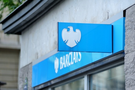 economic issues: Paris, France - July 13, 2011: Main branch of the major global financial services provider Barclays bank in Paris. Barclays PLC is one the world