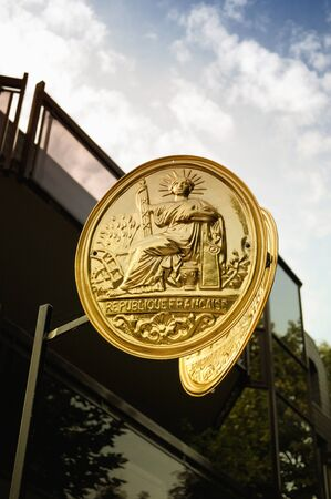 indivisible: The Great Seal of France Stock Photo