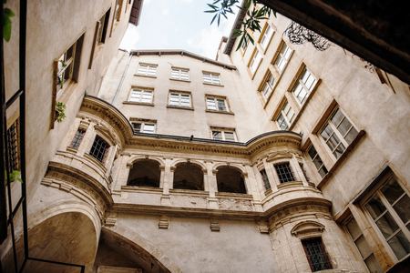 neighbourhood: Interior neighbourhood Old Lyon, France