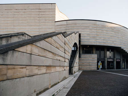 Main entrance to CineMalraux Curial Cinema building