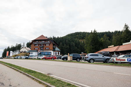 Large view of Berghotel Mummelsee 1036m in German Black Forest
