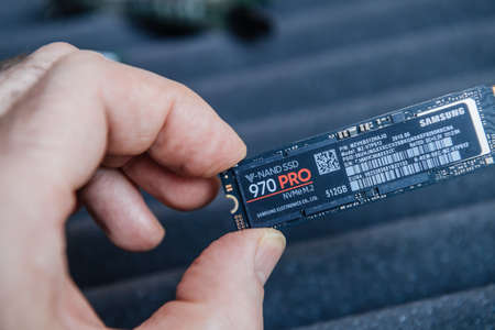 Samsung V-Nand SSD 970 Pro professional NVME fast M2 disk drive