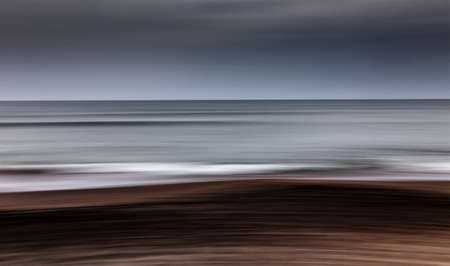 sea waves in panning