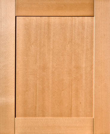 door of a kitchen cabinet made of beech wood