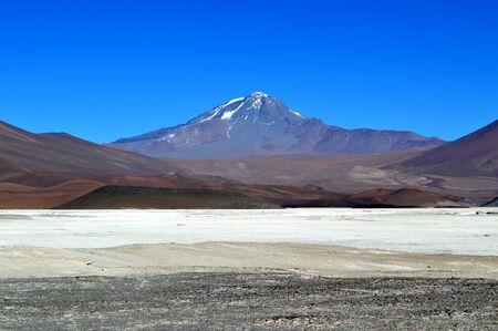 Llullaillaco volcano, the sacred volcano. Andes, Salta, Argentina