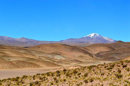 Quevar volcano seen from Santa Rosa de los Pastos Grandes, Salta, Argentina