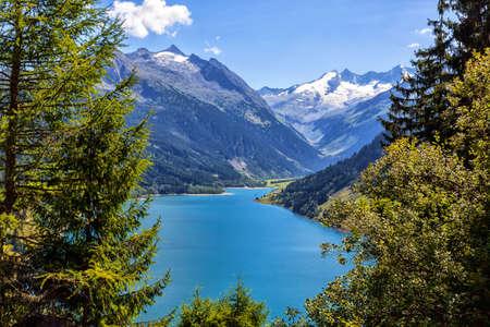 Austrian Alps in summer Stock fotó
