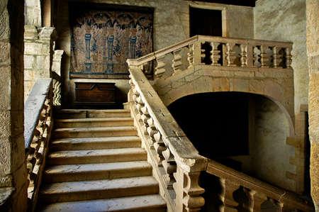 upstairs: Beynac