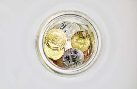 Bitcoin in the jar