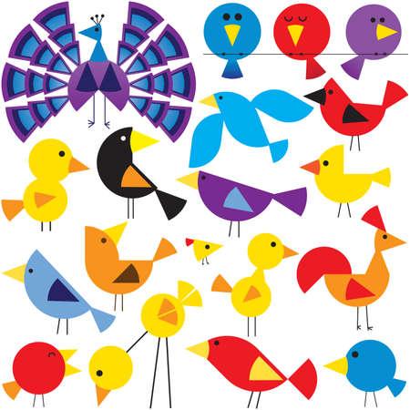 様々 な鳥 写真素材 - 26075590
