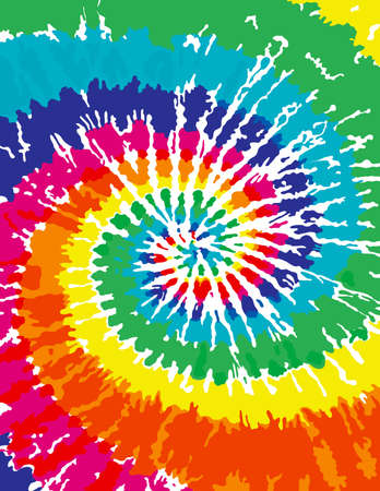 seventies: Tie Dye Background