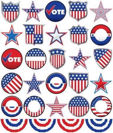 様々 な星があり、盾やキャンペーン活動に追加するボタン