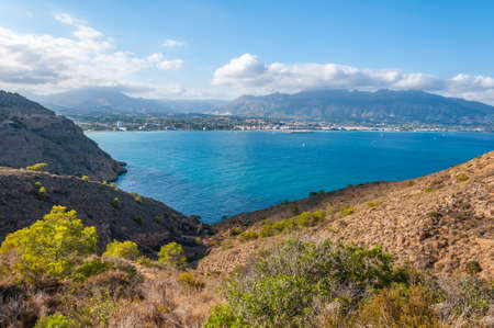 Altea, a city on the of the white coast, a tourist destination in Spain. A few kilometers from Benidorm, the town of Altea and nearby Albir enjoy a fantastic sea climate all year round.