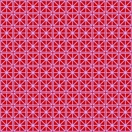 Illustration with repetitive geometric shapes covering the background. Drawing with colored pattern that can be used as a web pattern, wallpaper, digital graphics, gifts and artistic decorations.