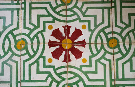 Beauty of tiled floor  photo