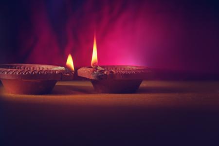 Diwali Lamp Indian Festival Diwali