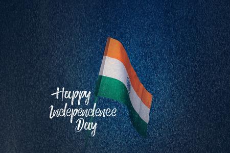 Indian Flag 写真素材