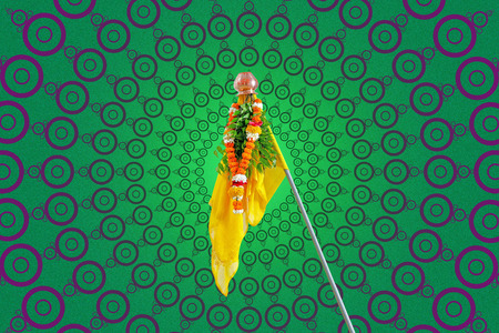 Gudi Padwa Marathi New Year Stock Photo - 124684179