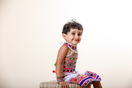 Cute Indian little girl child